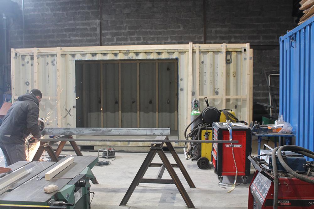isolation studio container